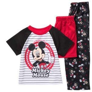 Disney Mickey Mouse 3 Piece boys pajamas set